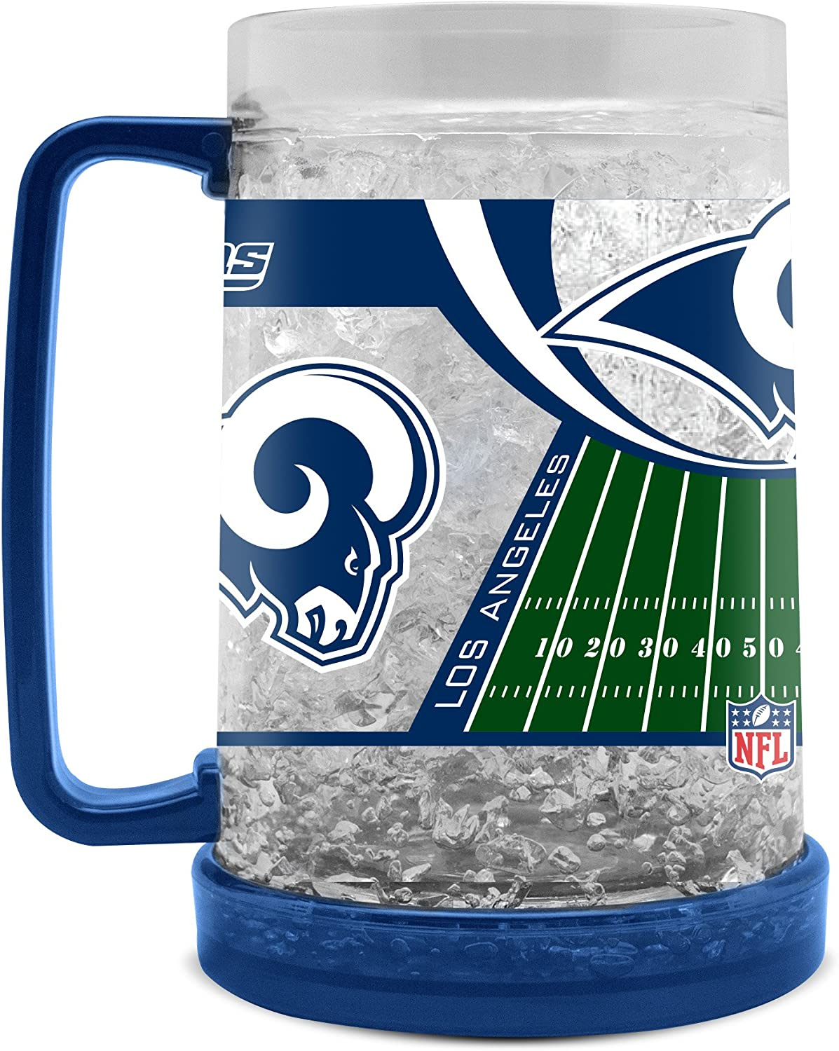 NFL Los Angeles Rams 16oz Crystal Freezer Mug
