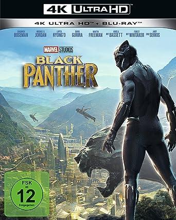 Black Panther Blu Ray Amazonde Chadwick Boseman Michael B