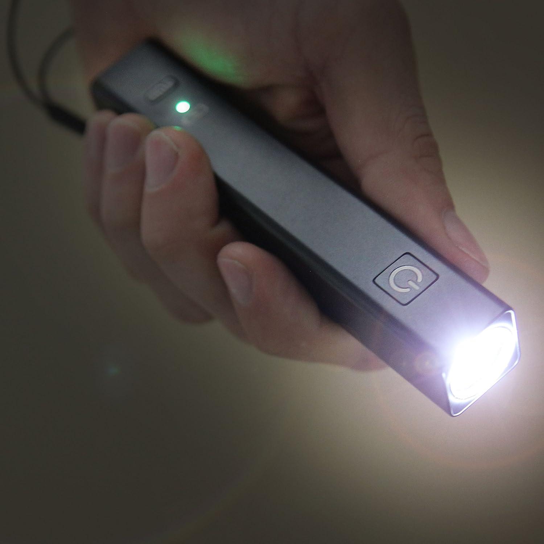 ChargeLight CL3 Black Bundle USB Charging Station UltraBright USB Flashlight 10W USB Speed Charger NOCO CL3BK