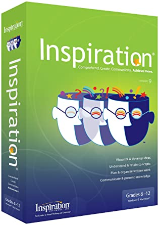 Inspiration 9: Concept Mapping : Amazon.co.uk: on inspiration software mapping, inspiration motivation, inspiration art, inspiration mind mapping,