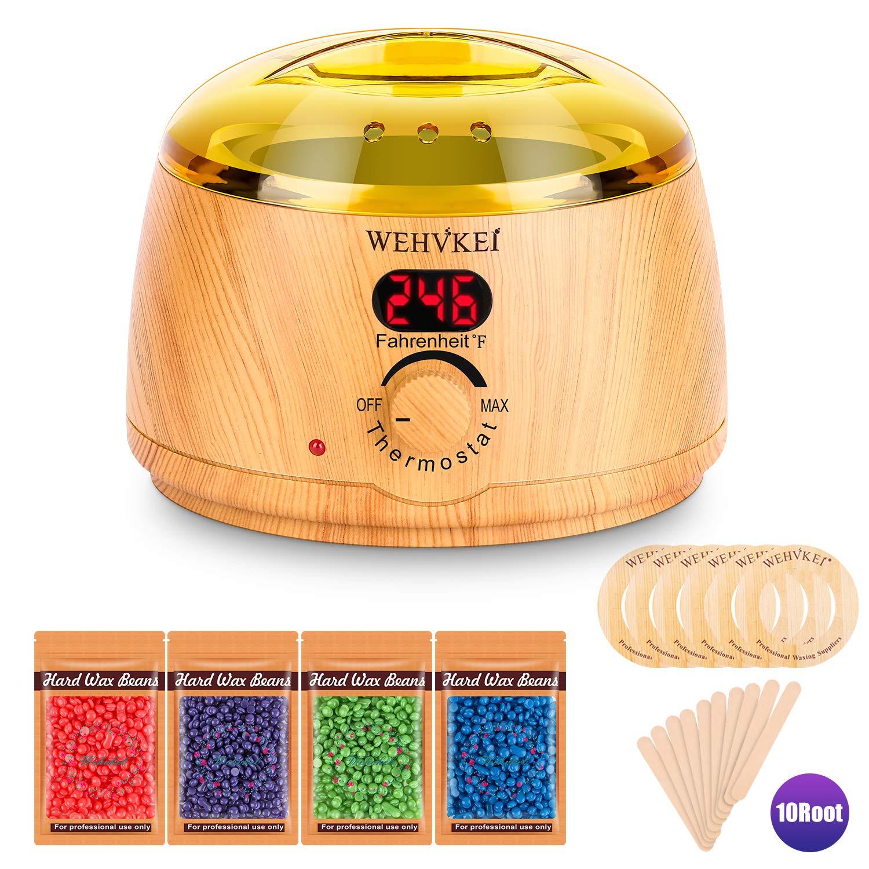 Amazon.com: Calentador de cera, kit de depilación para ...