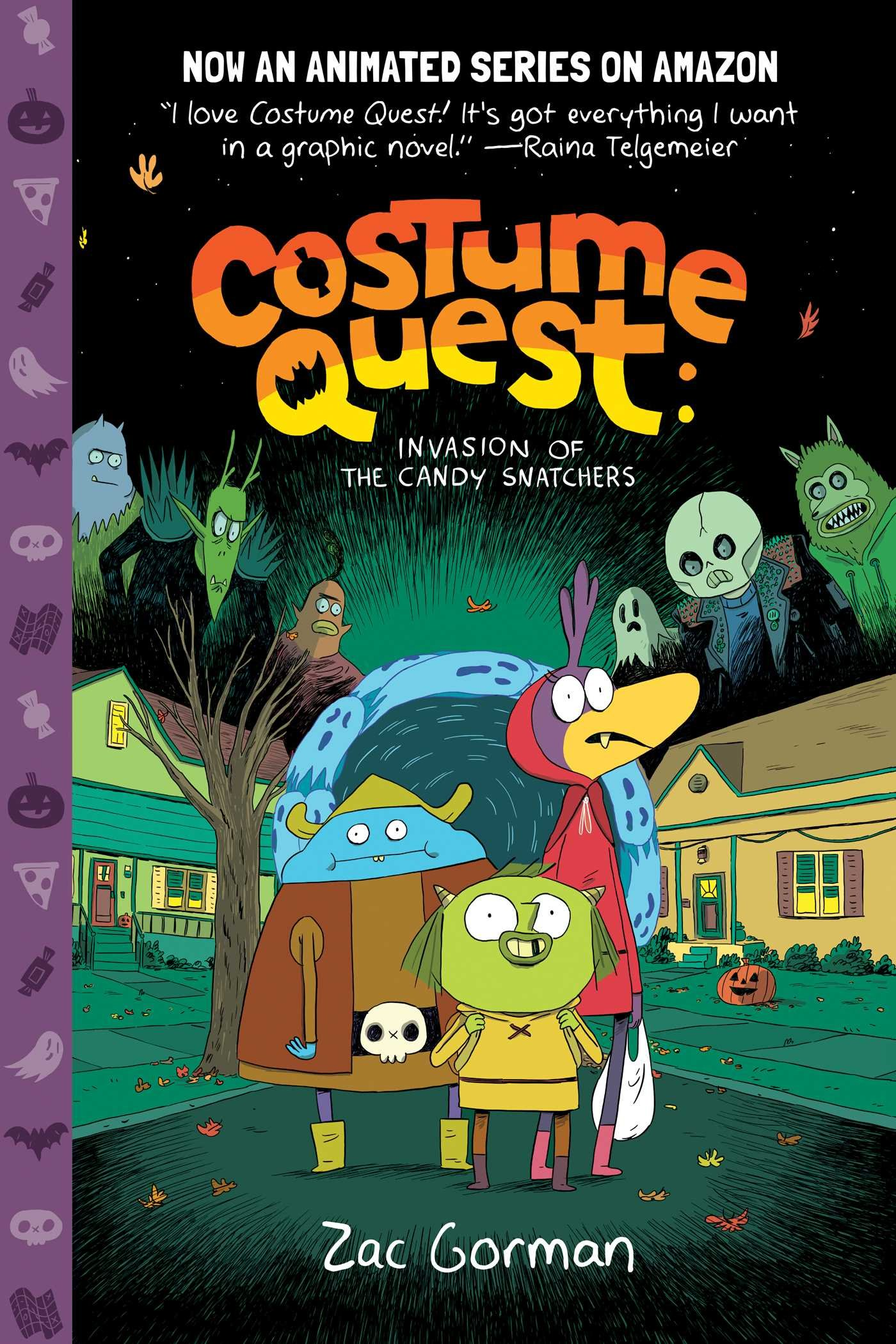 Costume Quest: Invasion of the Candy Snatchers (Inglese) Copertina flessibile – 18 set 2018 Zac Gorman Charlie Chu Oni Pr 1620105594