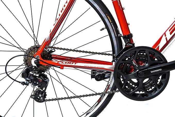 CLOOT Bicicleta de Carretera Elektra Race, Road Bike 700x23c ...
