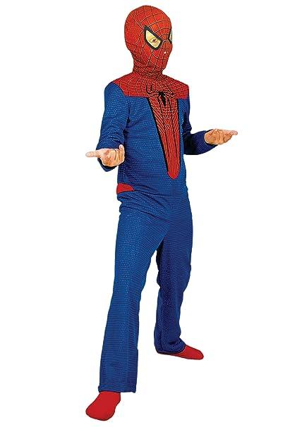 Marvel - Disfraz de Spiderman para niño, talla 3-5 años (E256-001)