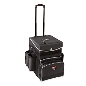 Rubbermaid Commercial Products Executive Janitorial Housekeeping Quick Cart, Medium, 1902466