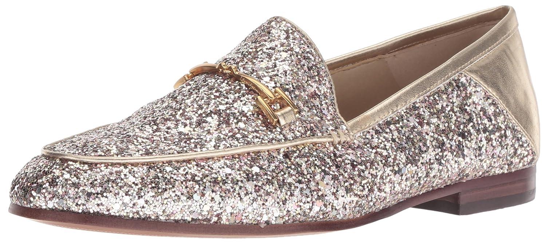 Molten gold Chunky Glitter Sam Edelman Women's Loriane Loafer Flats