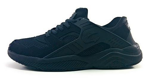 John Smith Roxin Zapatillas Hombre Negras Casual: Amazon.es: Zapatos y complementos