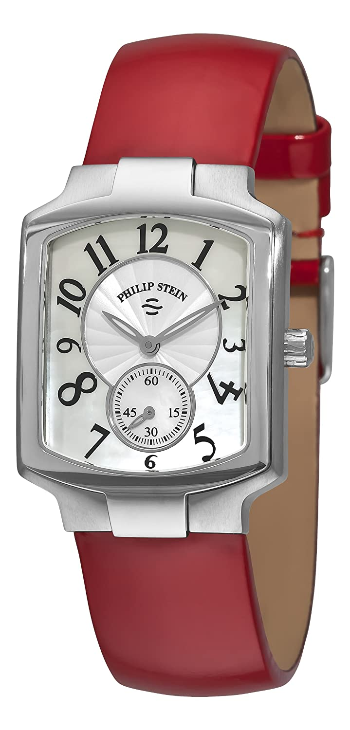 Philip Stein Women s 21FMOPLR Signature White Mother of Pearl Dial Watch