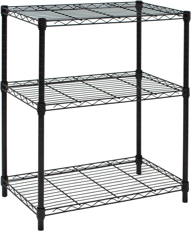 ARCHIMEDE ak1424/ black /3/System Bookcase metal