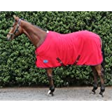 Barnsby Equestrian 270g Horse Fleece Cooler- Red