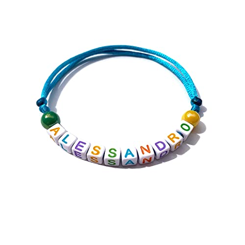 man or child Personalized name bracelet for woman