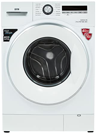 IFB 7 kg Fully-Automatic Front Loading Washing Machine (Serena WX, White)