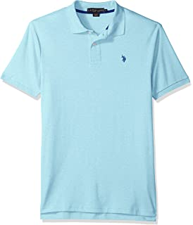 U.S. Polo Assn. Men\u0027s Solid Interlock Short-Sleeve Shirt