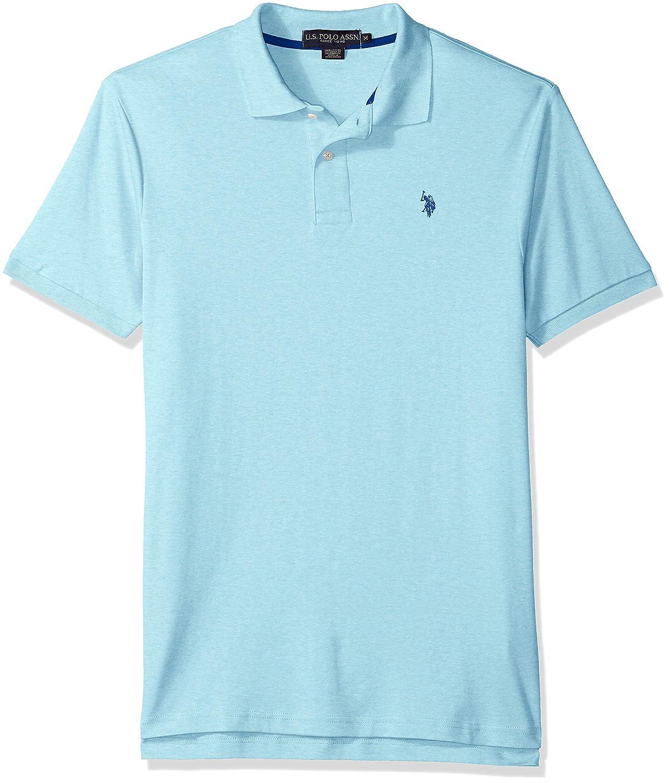Us Polo Assn Mens Solid Interlock Short Sleeve Shirt At Amazon