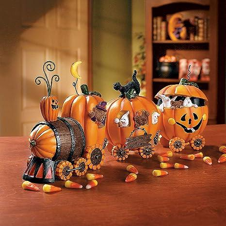 1 X The Pumpkin Express Train , Decorative Accessories