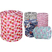 Dewberries Polycotton Multipurpose Pop Up Laundry Bag with Handle (Standard Size, Colour May Vary)