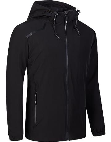 UDAREIT Womens Windbreaker Jacket Waterproof Rain Coat Hooded Hiking Running 0861c8e37df