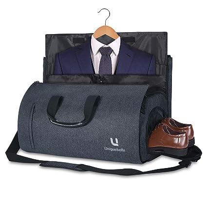 Amazon.com: Bolsa de transporte grande para ropa, con bolsa ...