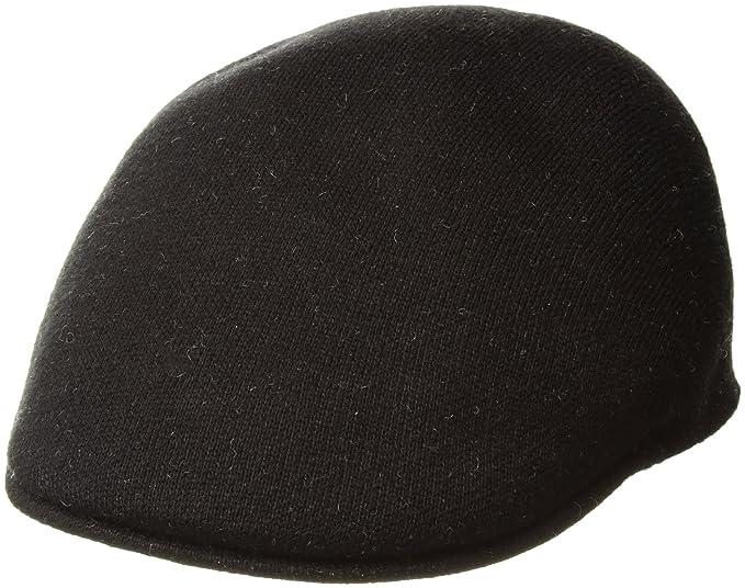 Kangol da uomo basco con visiera - nero - M  Amazon.it  Abbigliamento d2abbc4dce01