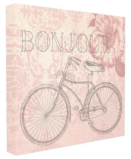 Stupell Industries Buongiorno Parigi Bicicletta Vintage Wall Art