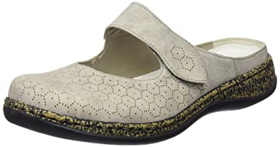 the latest 96edf a2125 Rieker 46395 Women Clogs Damen Clogs