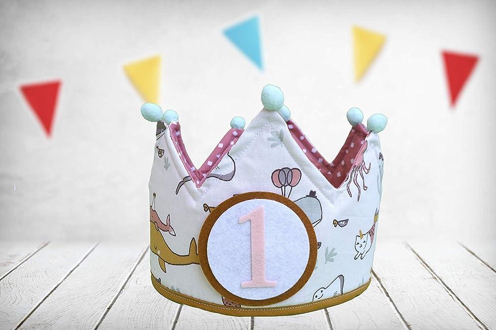 Corona cumpleaños Ballena (Incluye Todos los números ...