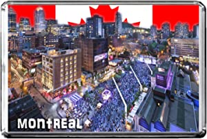 GIFTSCITY D009 MONTREAL FRIDGE MAGNET CANADA TRAVEL PHOTO REFRIGERATOR MAGNET