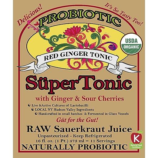 Red Ginger SuperTonic: orgánico, naturalmente probiótico. 11 ...