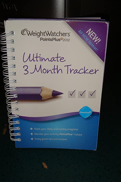 amazon com weight watchers 2012 3 month journal tracker points
