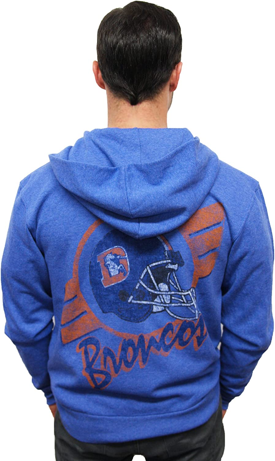 NFL Denver Broncos Vintage Hooded Sweatshirt Men's