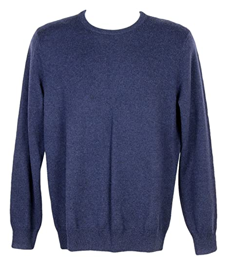 J Crew Italian Cashmere Crewneck Sweater Style 78795 Navy Size Xs