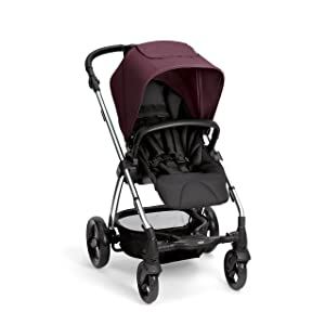 Mamas & Papas Sola2 Pushchair (Chrome Mulberry)