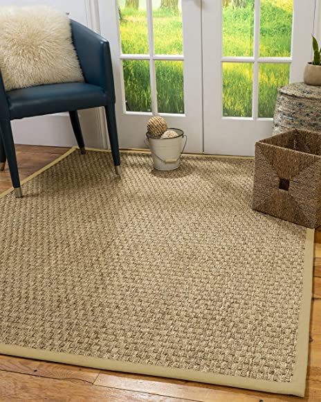 Natural Area Rugs Basketweave Custom Seagrass Rug