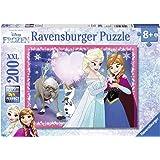 Ravensburger - 12826 - Puzzle - Amour soeurs Reine des Neiges - 200 pièces