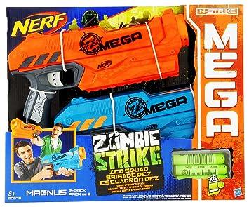 cd126541423 Hasbro Nerf N-Strike Elite Mega Zombie Strike Z.E.D. Squad Magnus 2-Pack