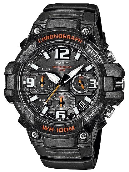Casio Reloj Analogico para Hombre de Cuarzo con Correa en Resina  MCW-100H-1AVEF  Casio  Amazon.es  Relojes bc4ad92a473a