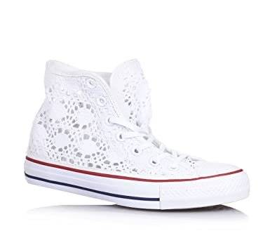 Converse Damen All Star Hi High Top Mainapps Amazon De Schuhe