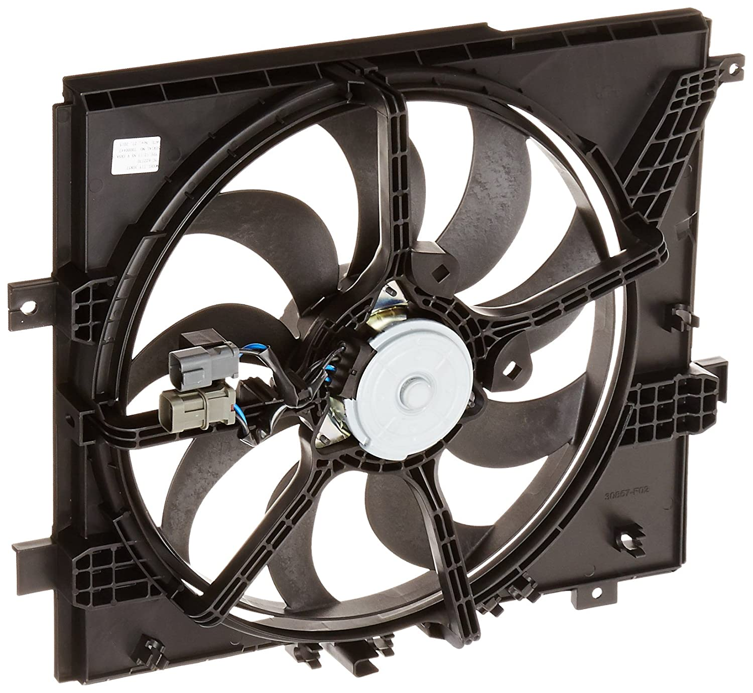 TYC 622770 Nissan Versa Replacement Cooling Fan Assembly