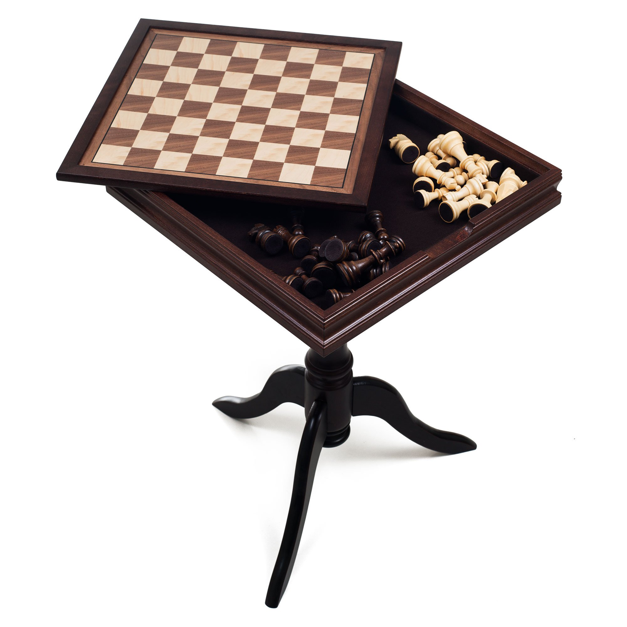Deluxe Chess and Backgammon Table by Trademark Games