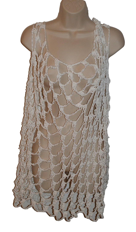 Amazon.com: Cotton Crochet Dress, Poolside Cover Up, Short Dress, White  Dress, Short Beach Dress, Beach Wedding, Beach Apparel, Bridesmaid Dress:  Handmade