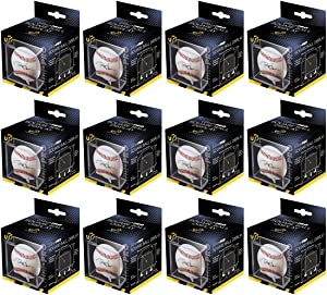 Ultra Pro 12 Square Baseball Display Holder w/Stand UV Protection New Lot Set (12 Baseball Cube Bundle)