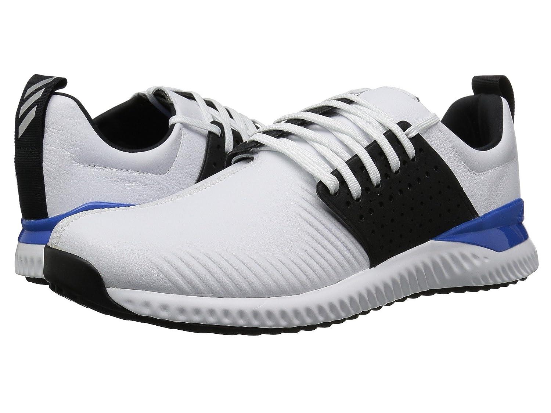(アディダス) adidas メンズゴルフシューズ靴 Adicross Bounce Footwear White/Core Black/Blue 14 (32cm) M B07BQK47FX