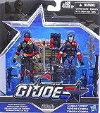 G.I. Joe 50th Anniversary Sinister Allies Action Figure Set (Iron Grenadier vs Cobra Viper Action) 3.75 Inches