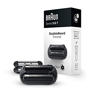Braun EasyClick Stubble Beard Trimmer Attachment for Series 5, 6 and 7 Electric Shaver