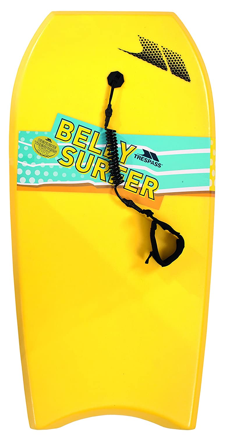 Trespass Kids Belly Surf Bodyboard Tabla de Surf - Amarillo: Amazon.es: Deportes y aire libre