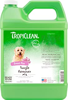 product image for TropiClean Tangle Remover Spray for Pets - Made in USA - Naturally Derived Ingredients - Ready to Use, No-Rinse Formula - Reduces Brushing Time - Helps Quickly Remove Tangles, Knots and Mats