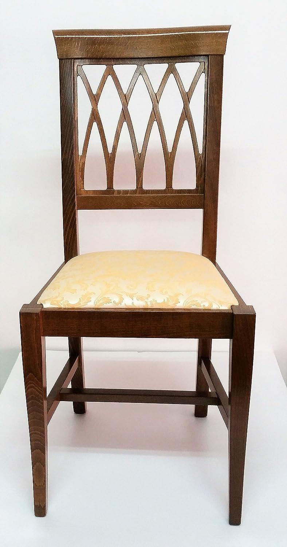 Sedie In Arte Povera Prezzi.Estea Mobili Sedia Cucina Sala Imbottita Arte Povera