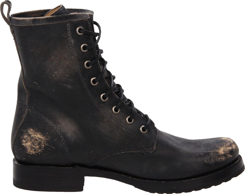 FRYE Women's Veronica Combat Boot B004OV0FG0 10 B(M) US|Black Stone Washed-76272