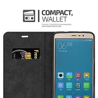 Amazon.com: Cadorabo Book Case Works with Xiaomi RedMi Note ...