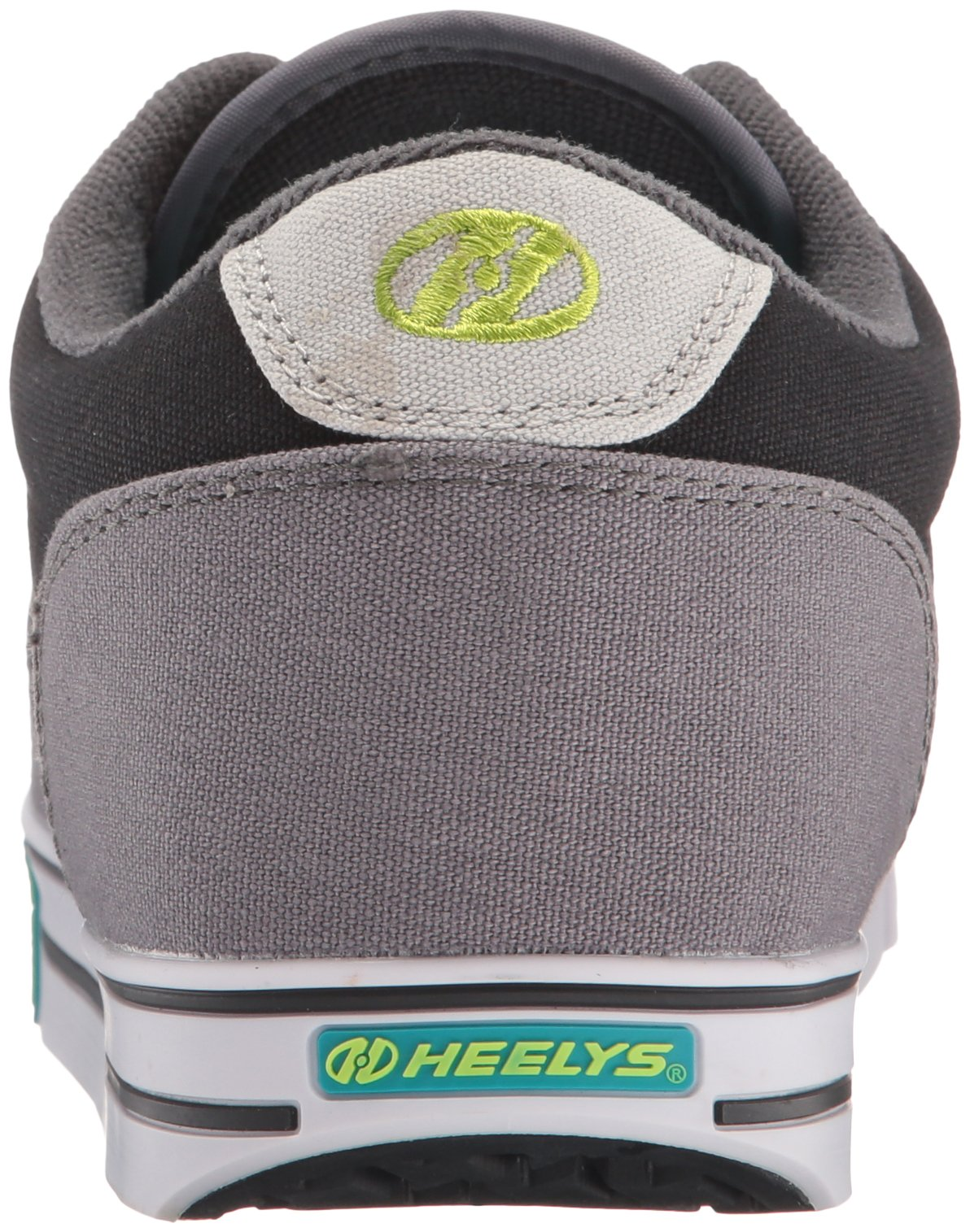 Heelys Men's Launch Fashion Sneaker Charcoal/Black/Lime 10 M US by Heelys (Image #2)